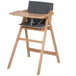 Safety 1st nordik natural drewniane krzesełko do karmienia z wkładką geometric + puzzle