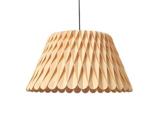Lzf :: lampa wisząca lola duża brązowa śr. 88 cm