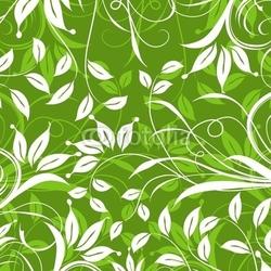 Tapeta ścienna dekoracyjny kwiatowy wzór, wektor