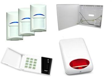 Zestaw alarmowy satel ca-4 led, 3xbosch, syg. zew. spl-5010r - szybka dostawa lub możliwość odbioru w 39 miastach
