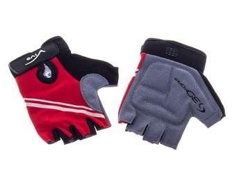 Rękawiczki rowerowe vivo sb-01-8802 e czerwone