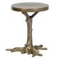 Be pure :: stolik metalowy rooted mosiężny śr. 40 cm