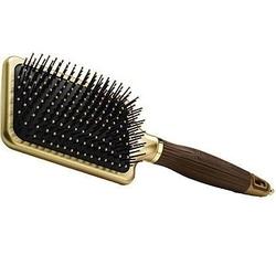 Olivia garden nano thermic paddle szeroka i płaska szczotka do wygładzania włosów