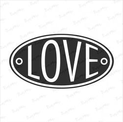 Stempel gumowy Love