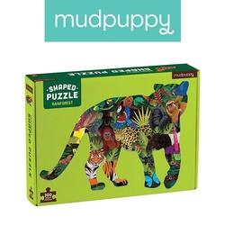 Mudpuppy puzzle kształty las deszczowy 300 elementów 7+