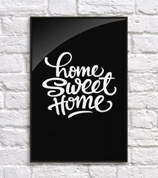 Home sweet home - plakat
