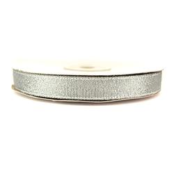 Wstążka brokatowa 12 mm32 m - srebrny - SRE