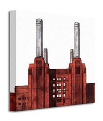 Battersea power station - obraz na płótnie
