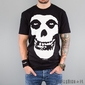 Koszulka rockoff - misfits friend skull