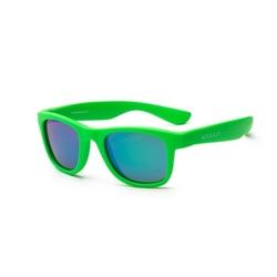 Okulary przeciwsłoneczne koolsun wave neon green 3-10 lat