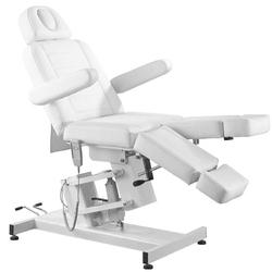 Fotel kosmetyczny elektr. azzurro 706 pedi  1 siln. biały