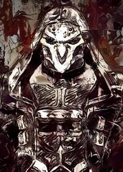 Legends of bedlam - reaper, overwatch - plakat wymiar do wyboru: 20x30 cm