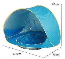 Namiot plażowy z basenem dla dziecka 117 x 79 cm