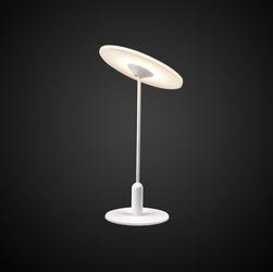 Designerska lampa stołowa z oświetleniem led vinyl t