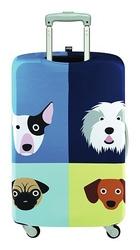 Pokrowiec na walizkę LOQI Stephen Cheetham Dogs