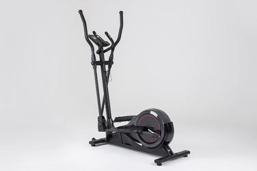 Orbitrek elektromagnetyczny hs-050c frost szary - hop sport - czarno-szary
