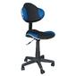 Fotel obrotowy q-g2 czarno-niebieski