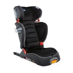 Chicco foldgo jet black fotelik 15-36kg i-size + organizer