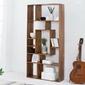 Regał drewniany rudi 180 cm nowoczesny sheesham