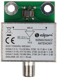 Wzmacniacz antenowy ekranowany 24db  - szybka dostawa lub możliwość odbioru w 39 miastach
