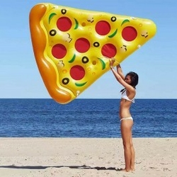 Dmuchany materac pizza