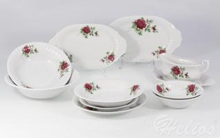 Serwis obiadowy bez wazy dla 12 os.  44 części - b826 iwona