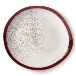 Hkliving talerz obiadowy ceramiczny 70s: frost ace6869