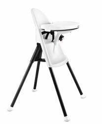 Krzesełko BABYBJORN High Chair - do karmienia dla dzieci w wieku od 6 miesięcy do 3 lat - białe