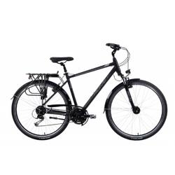 Rower trekkingowy romet wagant 7 2021, kolor czarny-szary, rozmiar 21