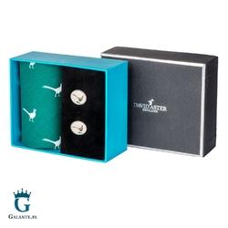 Zestaw prezentowy chusteczki i spinki bażant hs-02