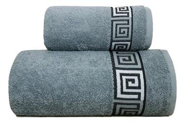 Ręcznik bawełniany dunaj frotex popielaty 50 x 90