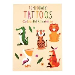 Tatuaże zmywalne dla dzieci, zwierzaki, rex london - zwierzaki