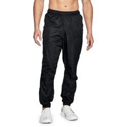 Spodnie długie męskie ua sportstyle wind pant - czarny
