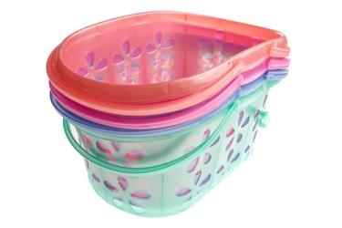 Koszyk plastikowy 24 cm mix kolorów