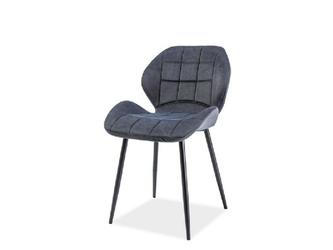 Krzesło tapicerowane rotar grafit
