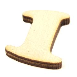 Drewniana cyfra mała 2 cm - 1 - 1