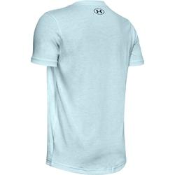 Koszulka chłopięca under armour sportstyle logo ss - niebieski