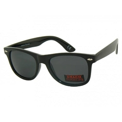 Czarne stylowe okulary przeciwsłoneczne polaryzacja drs-61c1