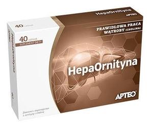 Apteo hepaornityna x 40 tabletek