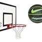 Zestaw sure shot maxi combo 542 tablica obręcz uchwyt + piłka do koszykówki nike dominate