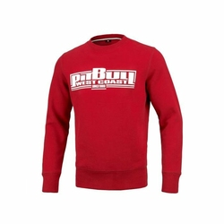 Bluza Pit Bull West Coast Crewneck Boxing 19 Red - 119401450 - 119401450