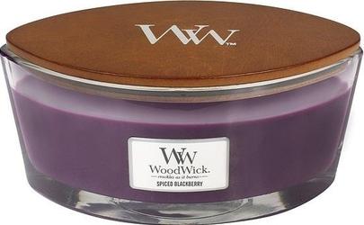 Świeca hearthwick flame woodwick spiced blackberry