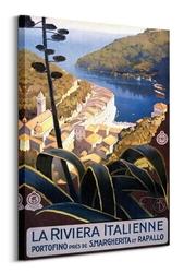 La riviera italienne - obraz na płótnie