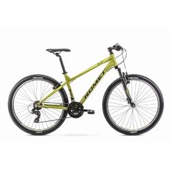 Rower górski romet rambler r7.0 ltd 27,5 2020, kolor limonkowy, rozmiar 17