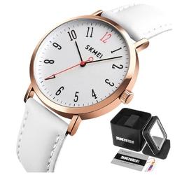 Zegarek damski skmei 1463 klasyczny skórzany pasek