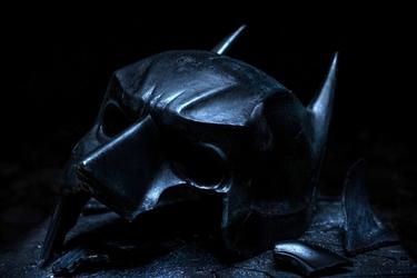 Batman - maska - plakat wymiar do wyboru: 59,4x42 cm