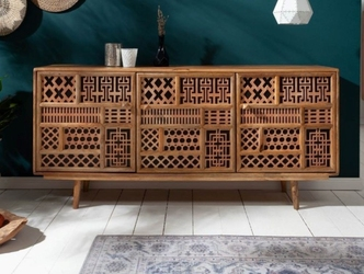 Drewniana komoda marrakesch  160x38x75 cm