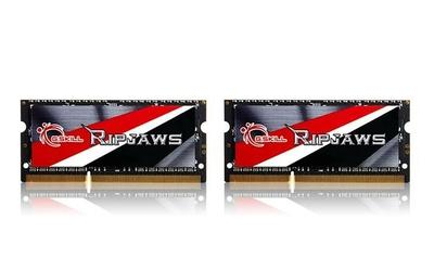 G.SKILL SODIMM Ultrabook DDR3 8GB 2x4GB Ripjaws 1600MHz CL9 - 1.35V Low Voltage