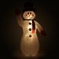 Bałwan świecący dmuchany 2,4 m, pompowany