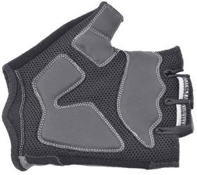 Rękawiczki kolarskie author palmair czarno-białe